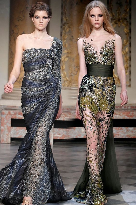 Collection Luxurious Couture Drees Spring / Summer 2012 by Famous Designer Zuhair Murad's
