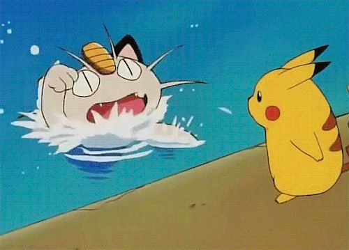""""""" my guy pikachu more heartless than the whole team rocket organization """""""