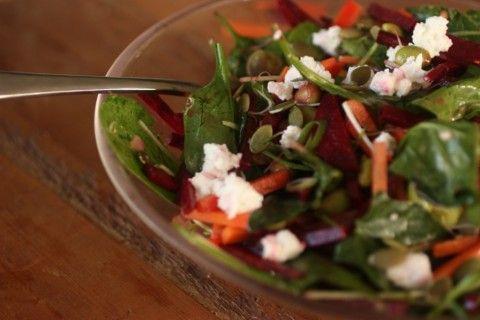 Raw Energy Salad  http://www.nourishmagazine.co.nz/03/raw-energy-salad/
