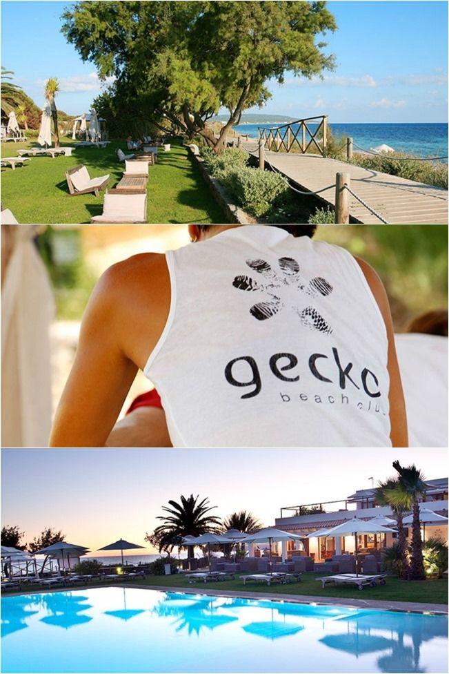 14 best lobby of the romanos resort images on pinterest - Hotel gecko beach club formentera ...