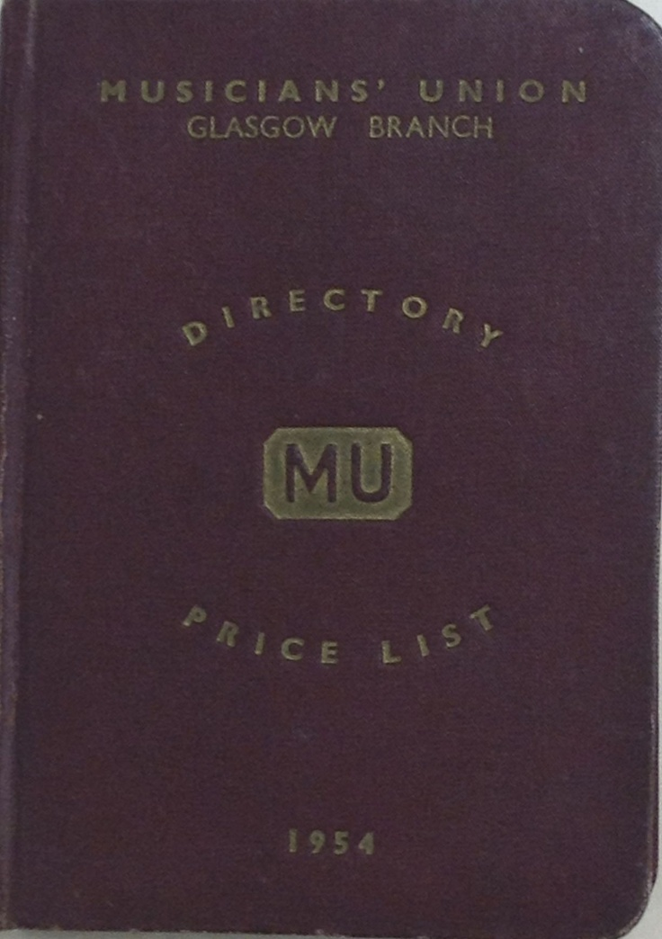 Glasgow branch directory and prices, 1954