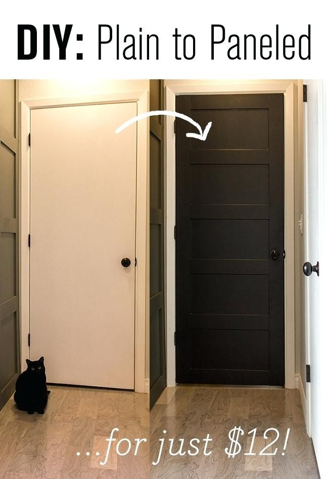 Remodel House Into Entryway Turn Plain Doors Panelled Masterpieces Small