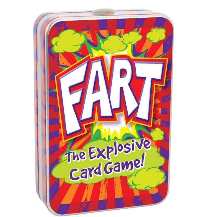 12 year old girls are sure to have a giggle with these Fart Card Game. A great alternate gift to the famous Top Trumps.