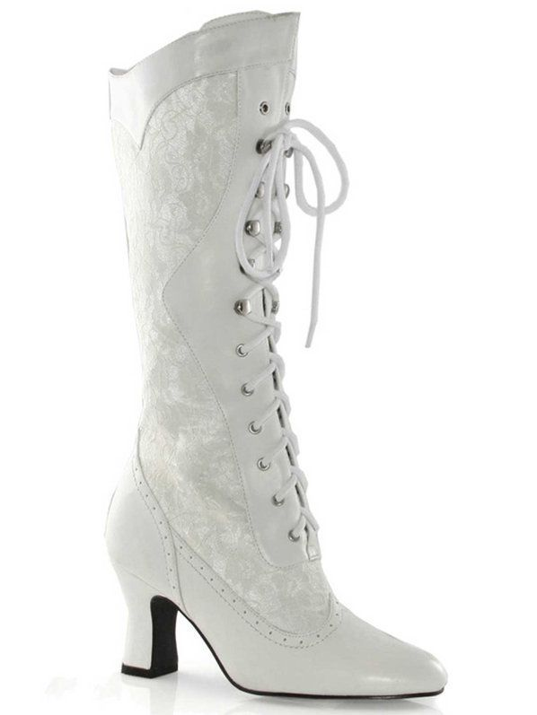 dc0ac35c38d Check out 2.5 in Heel Boots with Lace - Costume Accessories for 2018