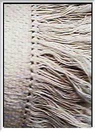 Pattern - Italian Hem Stitch Pattern for Monk's Cloth