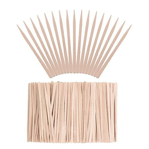 Whale 400 Pieces Small Wax Sticks Wood Spatulas Applicator Craft Sticks for Hair Eyebrow Removal - Features & Benefits: Wide range of usage: The special shaped sticks are suitable for many different placed hair removal, they can help to remove your hair on eyebrows, face and other small areas. Useful spatula applicators: You can use the wax applicator sticks to remove the hair you don't want t...