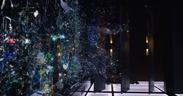 ghost in the shell city holograms before