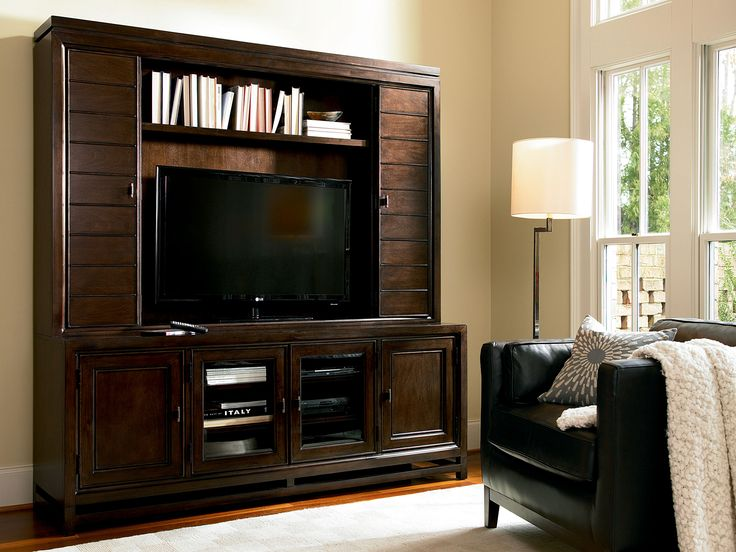 Latitude Collection by Universal Furniture - Entertainment Hutch and  Entertainment Console - 92 Best That's Entertainment... Images On Pinterest Tv Stands