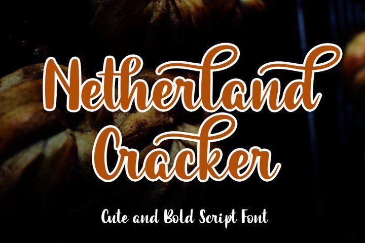 Christmas Cracker 2020 Rune Netherland Cracker (554418) | Calligraphy | Font Bundles in 2020