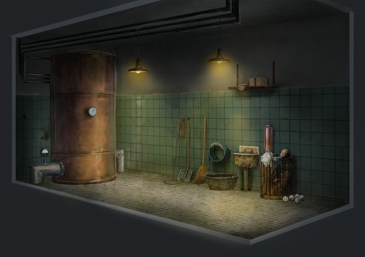 Project Discord - Indie Video Game ~ Janitor Closet 3