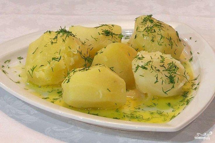 Отварной картофель в мультиварке