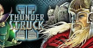 THUNDERSTRUCK II - Virtual City - To Asgard and beyond Thor, the mighty hammer-wielding Norse god of thunder and lightning, is joined on the reels by his father Odin, brother Loki, and one of the beautiful valkyries. Together they guard a host of exciting features and generous rewards in The Great Hall of Spins, which records the player's progress to ensure that previously unlocked features can be resumed in new play sessions.One of our most successful games of all time, Thunderstruck II.