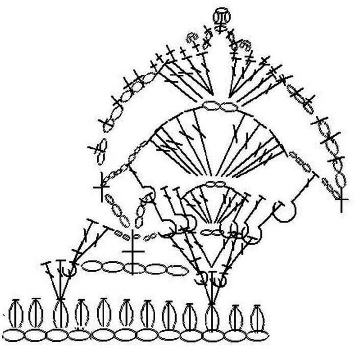 Шерстяной костюм «Орхидея» с ажурными воланами