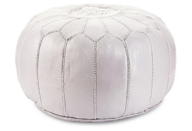 Moroccan pouf's are the most versatile (and stylish) piece of furniture you'll ever own.