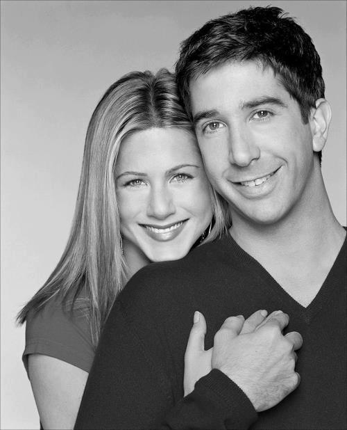 ross and rachel! FRIENDS will always be one of the best shows ever.