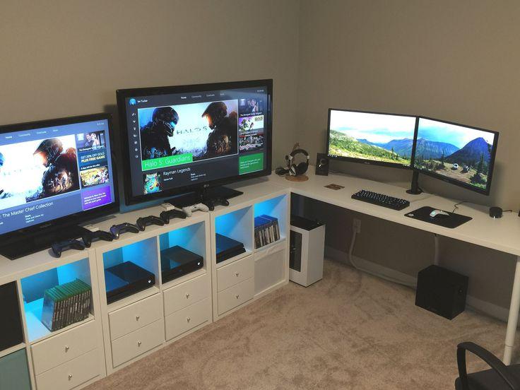 Beeindruckend bester Schreibtisch für Konsolenspiele