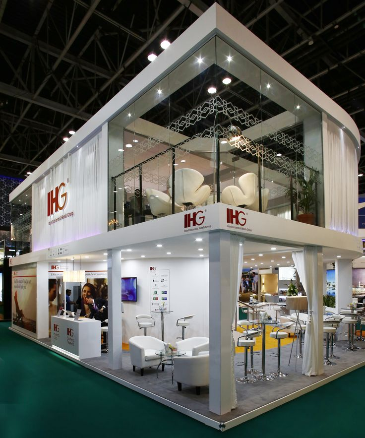 Exhibition Stall Design Uk : Ihg exhibition stand design by elevations uk for atm dubai