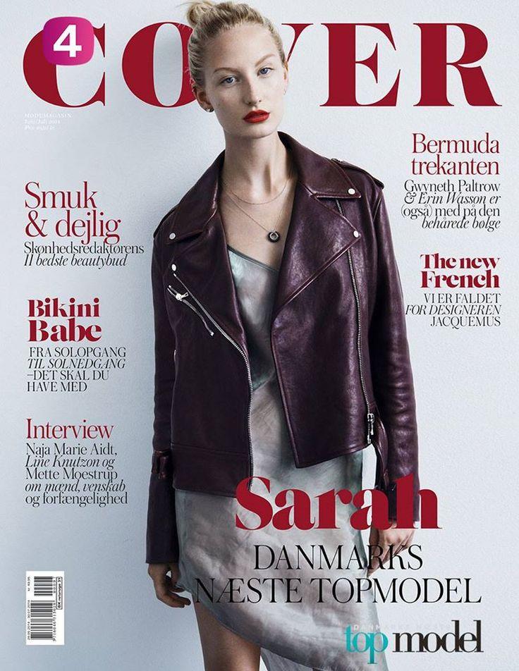 Coverforside til Topmodel 2014
