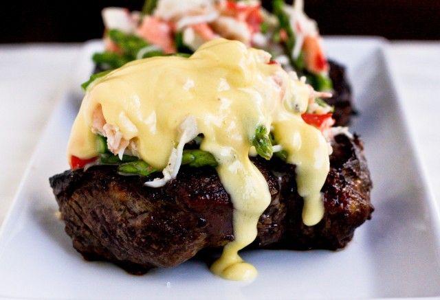 Steak Oscar - Confections of a Foodie Bride