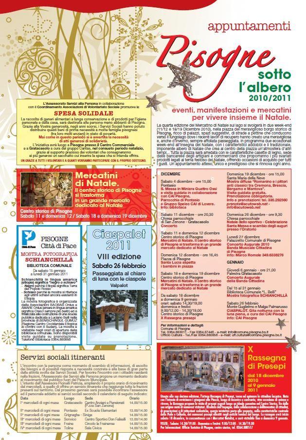 Pisogne sotto l'albero, eventi, mercatini e manifestazioni Natale 2010  http://www.panesalamina.com/2010/295-pisogne-sotto-lalbero-eventi-mercatini-e-manifestazioni-natale-2010.html