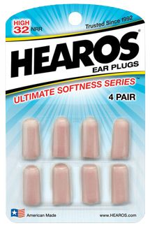 Ultiimate Soft Ear Plugs By HEAROS  | A snoring seat mate, a hotel with film-thin windows above a busy street, a rooster who lives next door to your guesthouse: all these things and more rob travelers of precious sleep. Earplugs might produce a quizzical expression on your gift-receiver's face – but only if they don't know how necessary these little foam saviors are to happy travels. Hearos makes earplugs that are particularly effective and comfortable.