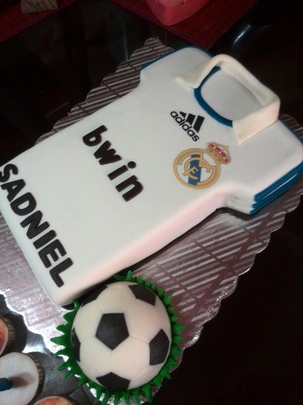 Torta camisa real madrid