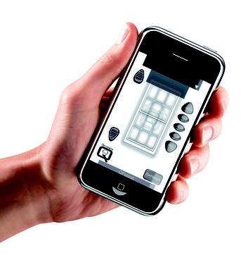 Scaglioni - Tecnologia Qmotion gestione tende a rullo tramite smartphones o tablet (ios/android)