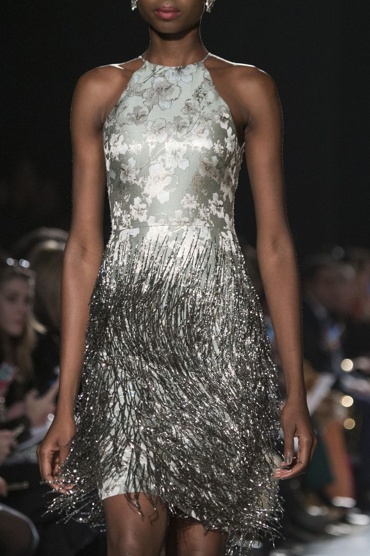 Badgley Mischka at New York Fall 2017 (Details)