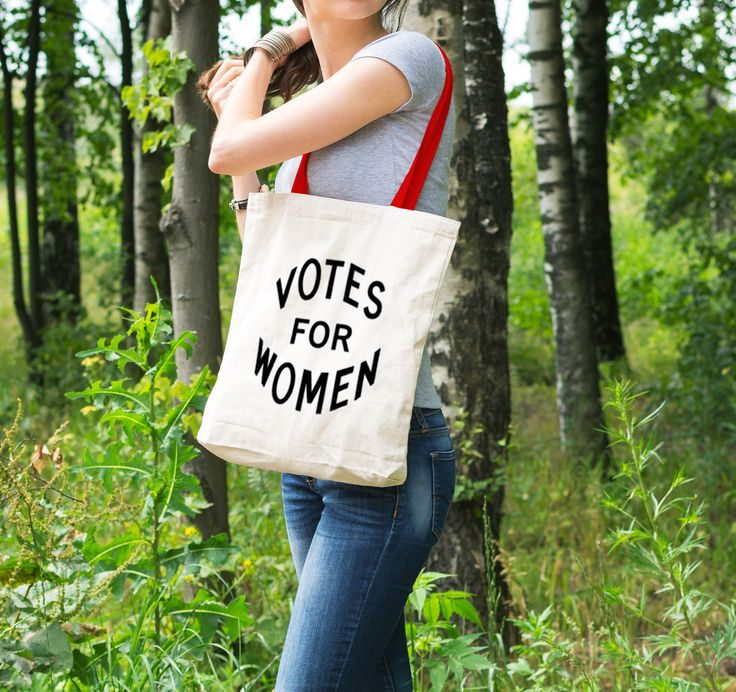 "Feminist Tote Bag: Historical ""Votes for Women"" Tote from Fourth Wave Feminist Apparel. Great gift! by FourthWaveApparel on Etsy https://www.etsy.com/listing/260159200/feminist-tote-bag-historical-votes-for"