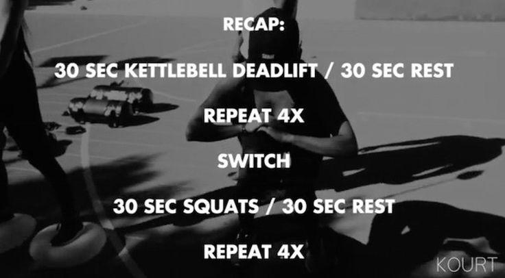 kourtney-kardashian-app-workout | Kourtney Kardashian's Ab Workout Will Get You A Sick Six-Pack In 2017