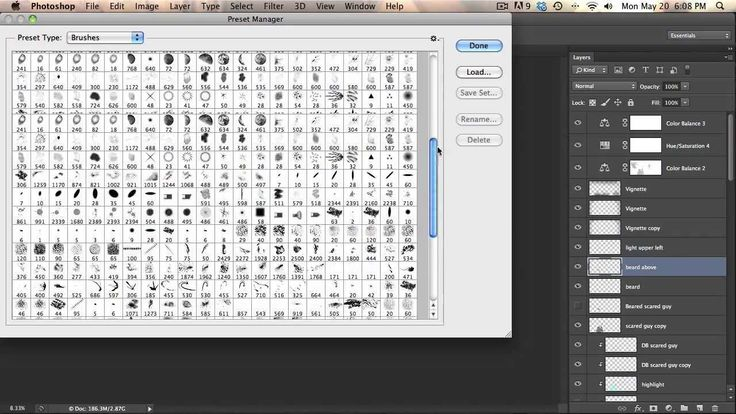 How to add and organize brushes in cs6 in 2020