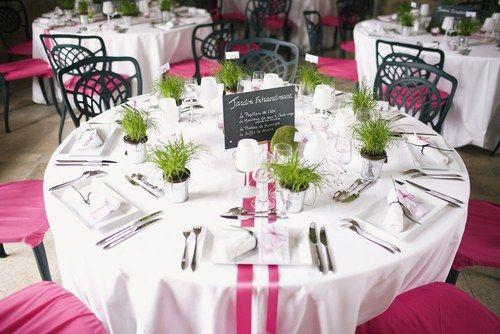 décoration de table mariage champetre