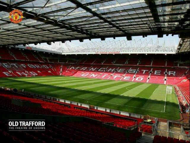 Old Trafford, Manchester, England  I've been to old Trafford and it is an amazing place with an amazing team!