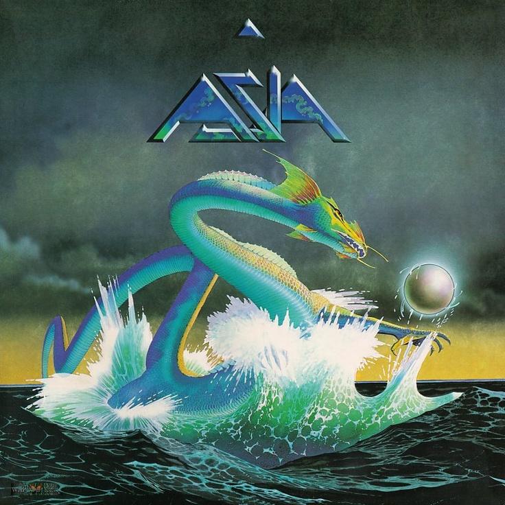 ASIA album art by Roger Dean