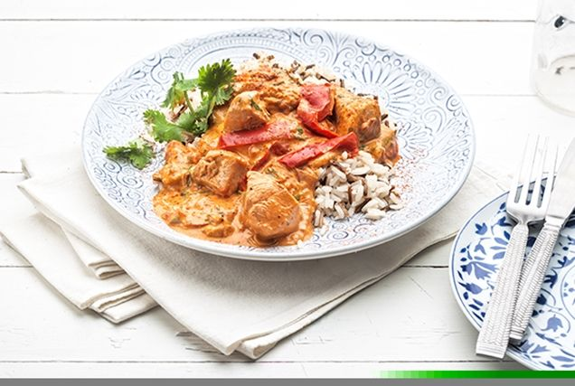Κοτόπουλο με πιπεριές και γιαούρτι-featured_image