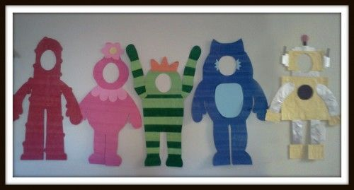 Yo Gabba Gabba Party Decorations - Character cutouts