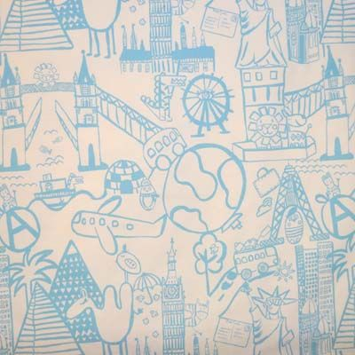 Travel Selection Kids Fabric For Curtains Bedding And Curtain Kits Uk