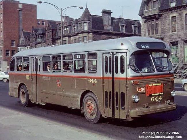 The Evolution Of Montreal S Buses Mtl Blog Graphic