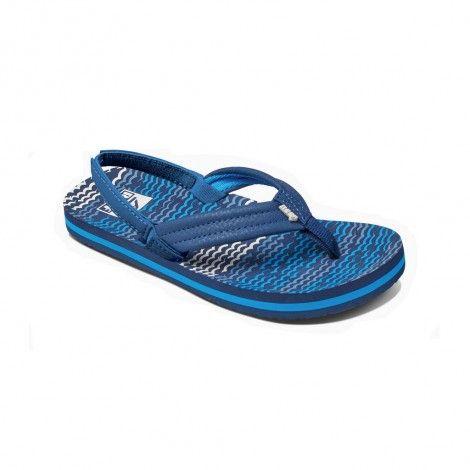 Ahi Ahi junior junior junior slippers blue waves horizon RRT7wxqr