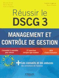 Zouhair Djerbi et Xavier Durand - Réussir DSCG 3 - Management et contrôle de gestion. - Feuilleter l'extrait