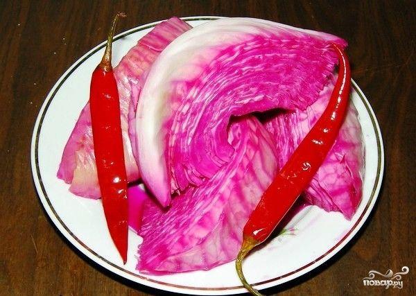 Капуста, маринованная по-армянски - пошаговый кулинарный рецепт на Повар.ру