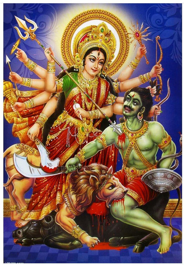 Durga Mahishasura Mardini Devi Durga Durga Maa Durga