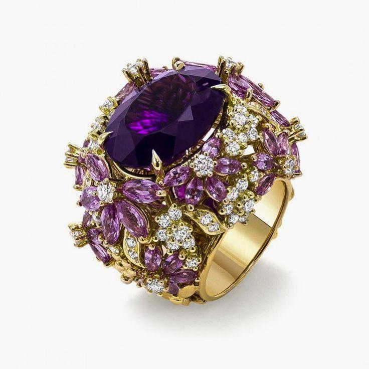 Кольцо от Ganjam из коллекции Le Jardin