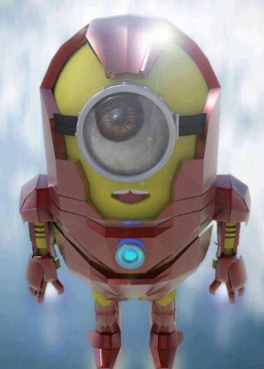 Iron Minion - Iron Man - Avengers