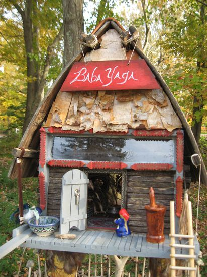 563 best images about baba yaga on pinterest folklore birdhouses and folktale - The dollhouse from fairy tales to reality ...