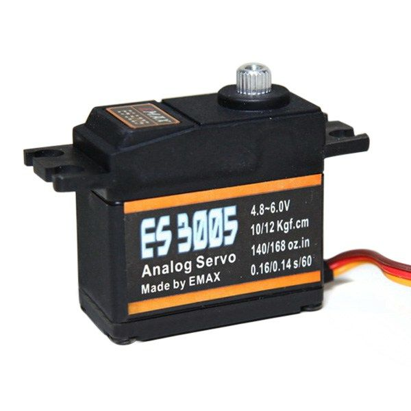 EMAX ES3005 42g Metal Analog Servo for RC Airplane Waterproof https://www.fpvbunker.com/product/emax-es3005-42g-metal-analog-servo-for-rc-airplane-waterproof/    #planes