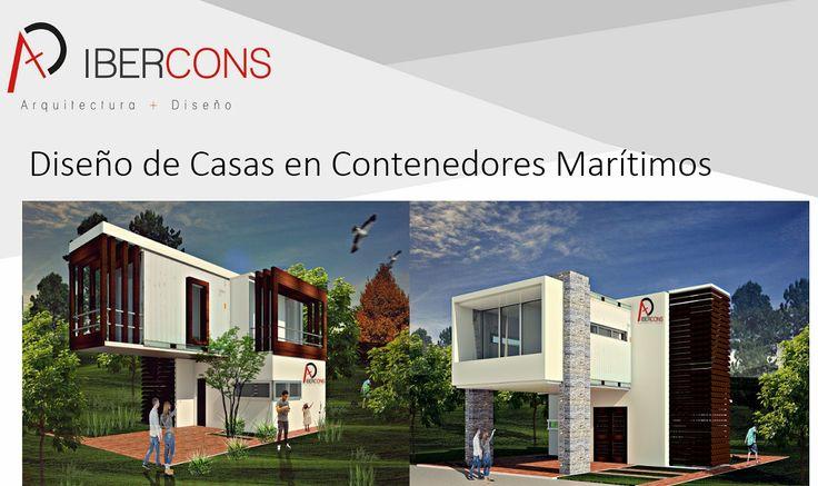 Ibercons Arquitectura + Diseño es pionero en Colombia en diseñar casas en Contenedores marítimos. Infórmate de nuestros nuevos, modernos y eco-amigables proyectos en: www.ibercons.com.co