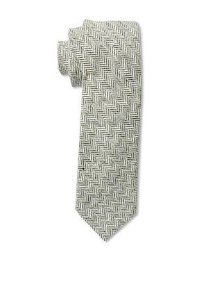 53% OFF Gitman Men's Herringbone Tie, Black