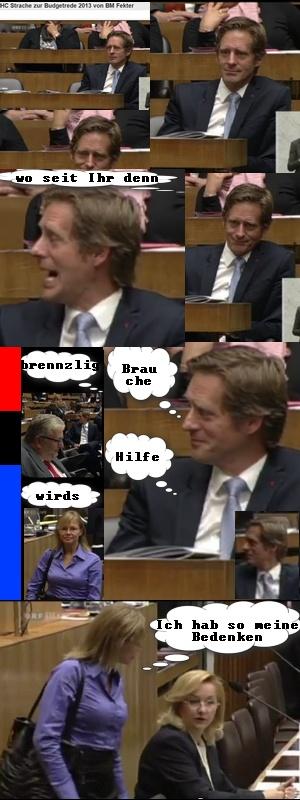 HC Strache in direkter Attacke zu Budget Rede Fekters - https://plus.google.com/u/0/101700768890016369861/posts | #FPÖ #hcstrache #Österreich #Wien #Vienna