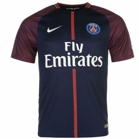 PSG Hjemmebanetrøje 17-18 Kort ærmer  #Billige Fodboldtrøjer